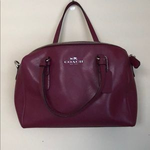 Coach Carry All Handbag with Crossbody Strap
